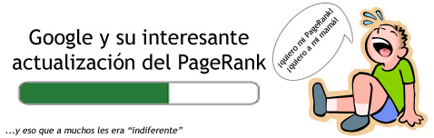 Actualización del PageRank