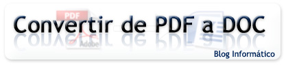 Convertir de PDF a Doc