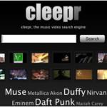 Cleepr, excelente motor de búsqueda de vídeos musicales