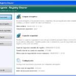 Repara el registro del sistema con Argente Registry Cleaner