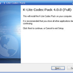 Descargar K-Lite Mega Codec Pack 4.00 para Windows…