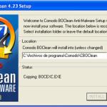 Comodo BOClean: Herramienta anti-malware gratis (Windows)