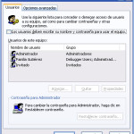 Iniciar Windows sin ingresar nombre de usuario y contraseña
