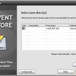 Prevent Restore: Software gratis de borrado seguro (Windows)