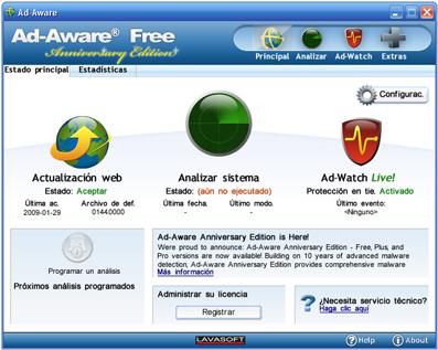 Ad-Aware Free - Anniversary Edition