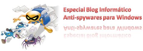 Anti-spywares para Windows