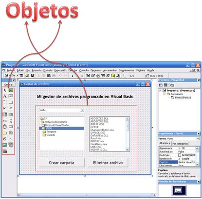 Objetos en Visual Basic