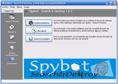 SpyBot - Search And Destroy
