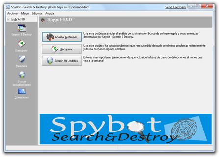 Anti-spyware gratis para Windows 7