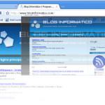 Característica Google Chrome: Pestañas (o solapas) dinámicas