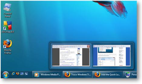 Inicio rápido en Windows 7