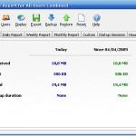 Reporte y monitoreo del ancho de banda usado por la conexión