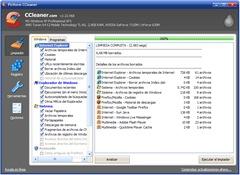 CCleaner - Nueva interfaz