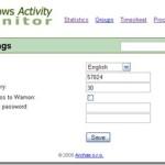 Windows Activity Monitor: Monitorea la actividad del ordenador