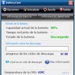 BatteryCare: Optimizar el uso de la batería de tu laptop (portátil)