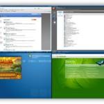 Dexpot: Cuatro escritorios virtuales en Windows (7, Vista, XP)