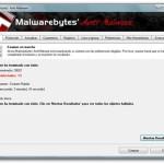 Malwarebytes Anti-Malware: Eliminando ficheros maliciosos…