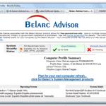 Belarc Advisor: Información detallada sobre hardware/software