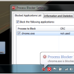 Bloquear ejecución de procesos indeseados en Windows con Process Blocker