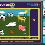 Juegos educativos gratis online para niños para aprender jugando en El Buho Boo