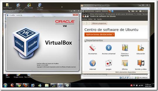 Virtualizar Ubuntu 10.04 en Windows 7 con VirtualBox