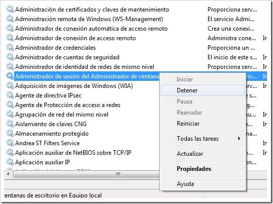 Desktop Windows Manager DWM.EXE