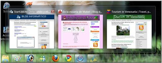Safari 5 Integración con Windows 7 y sus características