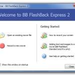 BB FlashBack Express: Utilidad gratis para hacer screencasts (Windows)