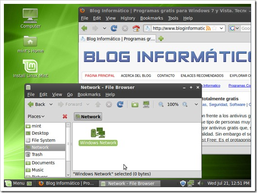 Linux Mint 9 LXDE