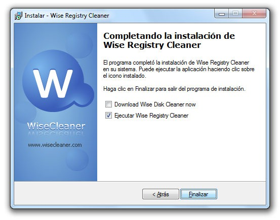 Wise Registry Cleaner - Paso 10