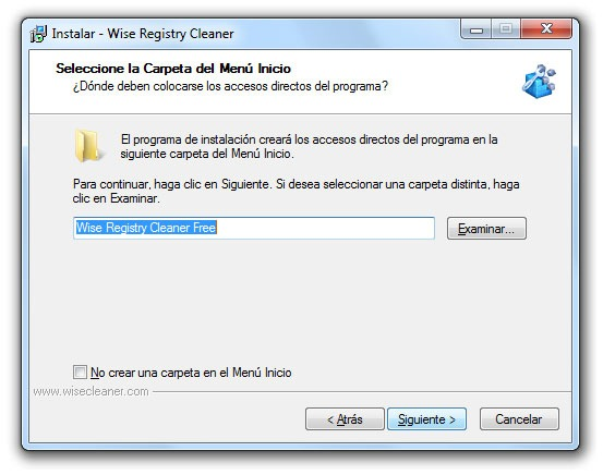 Wise Registry Cleaner - Paso 5
