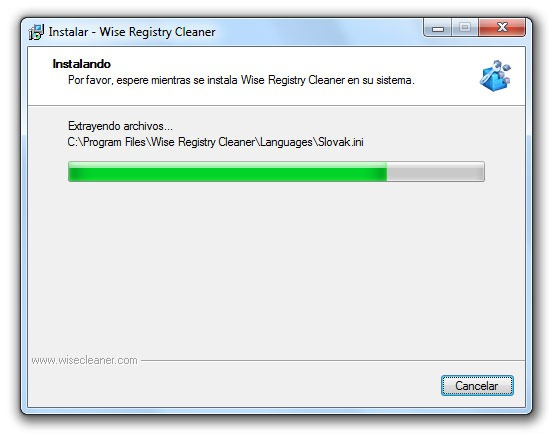 Wise Registry Cleaner - Paso 8