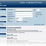 net2ftp: Cliente FTP basado en la Web con editor de archivos incluido