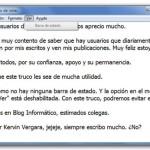 Truco Windows 7: Activar barra de estado en Bloc de Notas (How-To)
