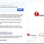 PanicButton (Extensión Google Chrome): Un clic oculta todas las pestañas