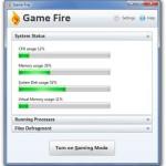 Game Fire: Programa para aumentar la velocidad de juegos en Windows