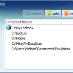 My Lockbox 2.2: Programa gratis para proteger carpetas con contraseñas