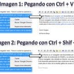 Truco Google Chrome: Copiar y pegar texto sin formato en el navegador
