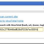 VTchromizer: Verificando si un archivo tiene virus desde Google Chrome