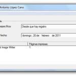 JosePrintTool: Monitorear impresora, ver cuántas páginas se imprimieron