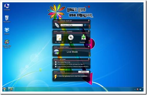 LinuxLive USB Creator