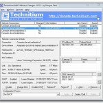 Cambiar dirección MAC en Windows con Technitium MAC Address Changer