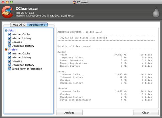 CCleaner para Mac