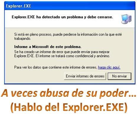 Explorer.EXE - Reiniciarlo