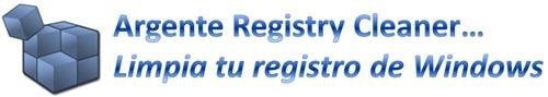 Limpiar registro de Windows con Argente Registry Cleaner
