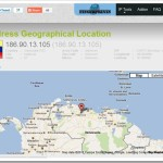 Localizar dirección IP en Mapas de Google con el servicio IP Finger Prints