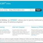 Metascan: Escáner online de virus gratuito que usa 19 motores diferentes