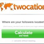Twocation: Saber los países de dónde son tus seguidores en Twitter…