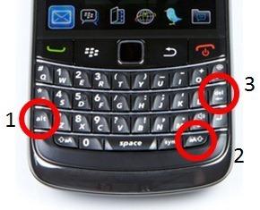 Reiniciar un BlackBerry