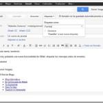 Truco GMail: Etiquetar correo antes de enviarlo. Nueva función en el correo de Google.